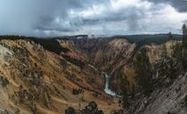 I thought Yellowstone was just geysers until I walked out to the ledge