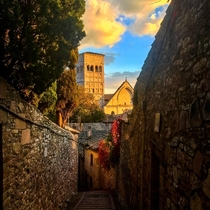 I too took a picture of Assisi And I agree amazing city