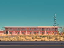 I took a picture of an abandoned motel in Arizona