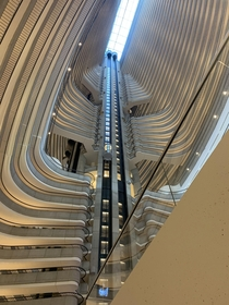 I took ANOTHER picture of the Marriott Marquis atrium in Atlanta Wanna steal this one ugarboardload
