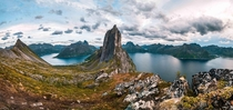 I took this at Mt Segla in Senja Norway