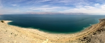 I took this photo of the Dead Sea from the side of the highway in Israel I had no idea a desolate wasteland could still be so beautiful