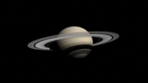 I took this screenshot of Saturn on Celestia