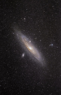 I took this widefield image of Andromeda the beautiful spiral galaxy M