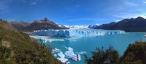 I travelled to South America and got stuck there for this picture The real Perito Moreno Glacier Argentina