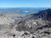 I understood the power of it when I saw it in person - Crater View From Summit of Mt St Helens Summit