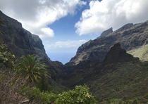 I visited the village of Masca in Tenerife Spain This is what the people who live there wake up to every day