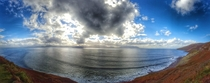 I waited a long time to grab this panorama at Inch Strand Co Kerry OCx