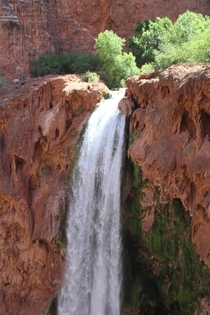 I was born and raised in Arizona and I only recently started appreciating the beauty of where I live This was taken at Mooney falls and I hope one day Ill be lucky enough to visit the Confluence
