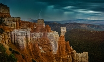 I was in Bryce Canyon Utah and some weather rolled in