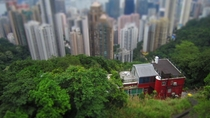 I was in Hong Kong recently here is a picture I took from the Peak
