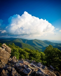 I was Inspired to hike Black Rock Summit in the Shenandoah National Park after seeing another post here Great view
