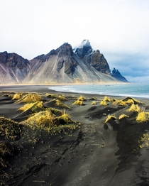 I was mesmerised by the beauty of Vestrahorn Iceland