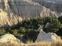 I was on my way to mount Rushmore Badlands national park South Dakota x