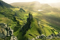 I was suggested to post this here This is the Quiraing area of the Isle of Skye with me taking in the scenery