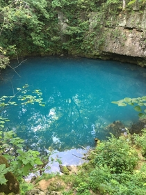 I was told I needed to go see Round Spring in Missouri and I was not disappointed uRobotics_Engineer