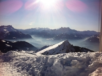 I was told to come here with a picture I took a couple years back the view from Schilthorn Switzerland