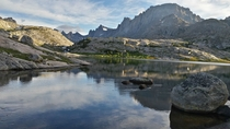 I went backpacking in the Wind River Range and this is what I found