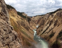 I went on vacation to Yellowstone earlier this year Taken with my iPhone  no effects or filters