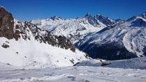 I went skiing last month i took this picture France Mont-Blanc X