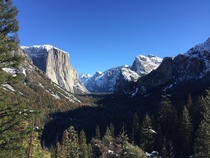 I went snoesnowing in January and I saw this coming out of the tunnel Yosemite National Park