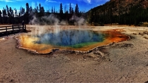 I went to Yellowstone