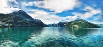 I wish I could start every day with a view like this Lake Lucerne Switzerland