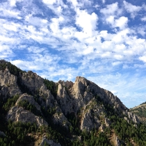 I wish I knew the geology behind it but Frog Rock near Bozeman MT is still pretty amazing