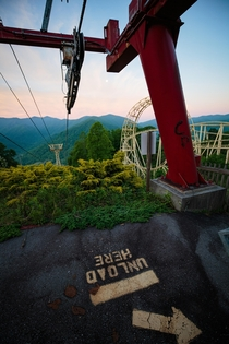 I Wish the chairlift still worked