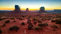 I woke up here this morning Monument Valley