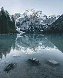 I would wake up every morning with this view from Lago di Braies would you too