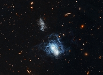 I Zwicky  - One of the Strangest Known Irregular Galaxies