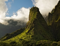 Iao Needle Maui Hawaii  by Michael Schwab