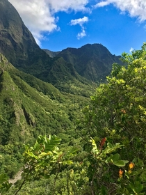 Iao Valley West Maui Mountains Hawaii USA
