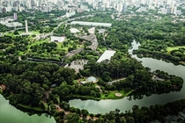 Ibirapuera the largest public park in So Paulos downtown