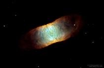 IC  A Seemingly Square Nebula by C R ODell Hubble Heritage Team