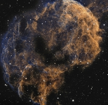 Ic  Jellyfish nebula from my telescope