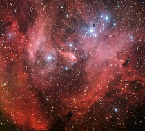 IC  Nicknamed the Running Chicken Nebula