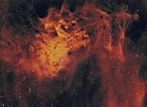 Ic  - The Flaming Star Nebula