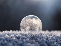 Ice bubble  Aaron Burden