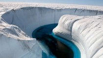 Ice Canyon Greenland