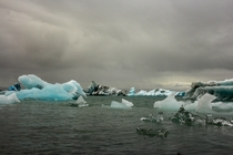 Ice Floes of Jokulsarlon Iceland