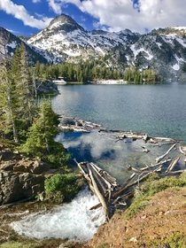 Ice Lake Eagle Cap Wilderness Oregon USA