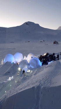 Ice Music Festival at Finse Norway
