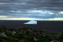 Iceberg at Great Brehat Newfoundland Canada