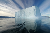 Iceberg in the Northeast Greenland National Park  photo by Rita Willaert