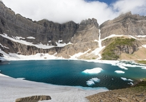 Iceberg Lake Glacier National Park MT