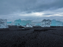 Icebergs in Jkulsrln Iceland