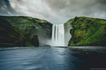 Iceland lives up to the hype Skogafoss Iceland