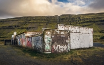 Icelandic Graffiti Building